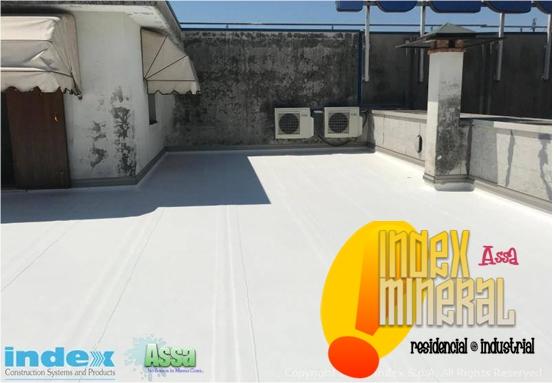 Sellado de techo con ImperCaribe 1